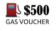 500 Gas Voucher